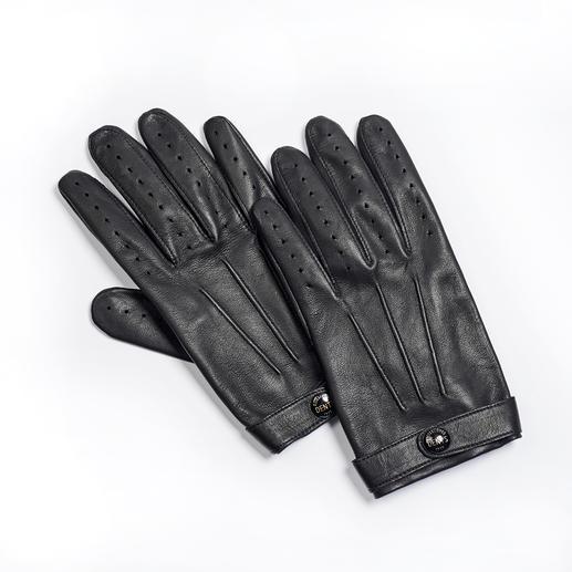 Dents Gentleman-Handschuhe An Dents-Handschuhen erkennt man den Gentleman. Feinste Lederhandschuhe aus Großbritannien, seit 1777.