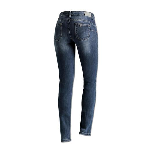 """Liu Jo Jeans """"Bottom up"""", slim leg Kaum eine Jeans lässt Ihren Po knackiger aussehen als die """"Bottom up"""" von Liu Jo Jeans, Italien."""