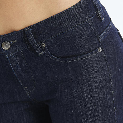 """Strenesse Business-Jeans """"Rina"""" Jeans im Job? Nur ganz wenige sind wirklich akzeptabel. Aktueller Raw-Denim-Look. Cleaner Schnitt. Perfekte Passform. Von Strenesse."""