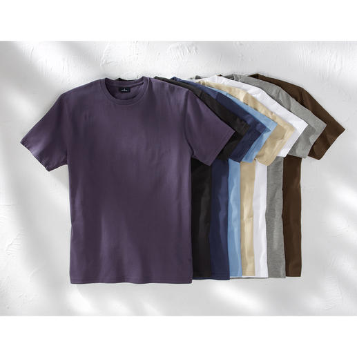 Das 155 g-Ragman T-Shirt Ihr wichtigstes T-Shirt: Südamerikanische Baumwolle. 155 g/qm. Das seltene von Ragman.