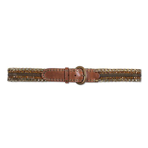 Nanni Milano Metall-Schmuckgürtel Nicht nur ein praktischer Gürtel. Sondern ein seltenes Schmuckstück.