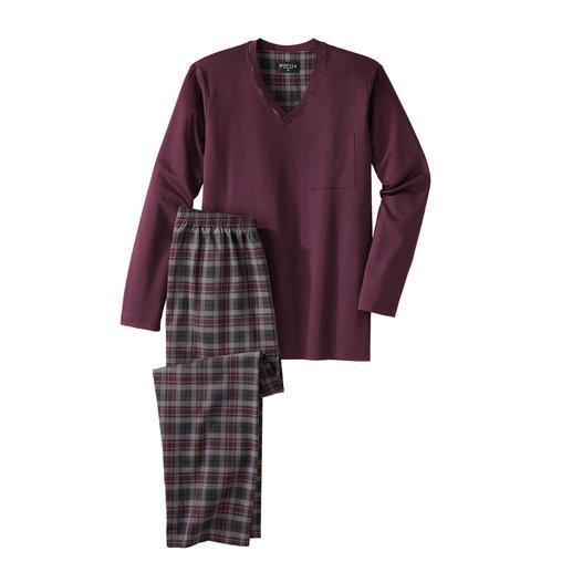 Novila Gentleman-Pyjama Der perfekte Gentleman-Pyjama: Bequem. Luftig. Edel.