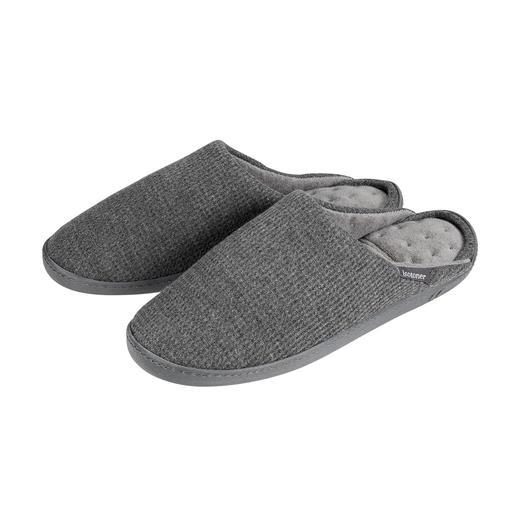 Der patentierte PillowStep™-Hausschuh aus Memory-Foam. Großer Komfort zum erschwinglichen Preis