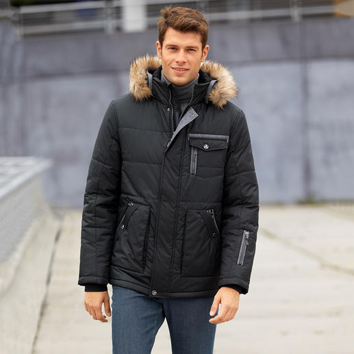 AJK Climate-Control® Herrenjacke Die AJK Climate-Control®-Jacke: 10-fach funktionell. Und selten chic.
