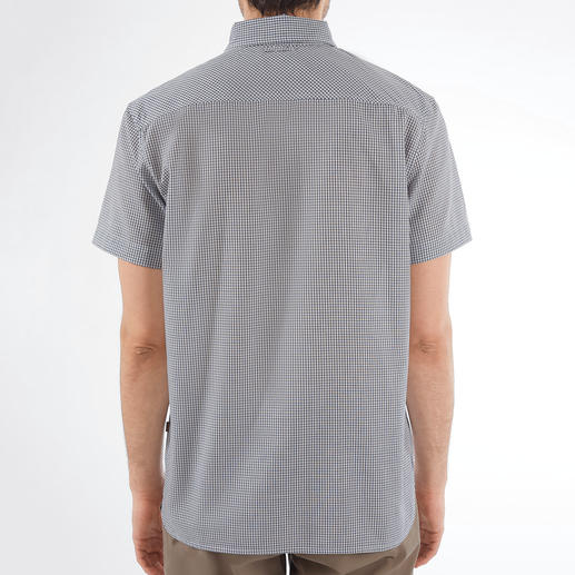 Aigle Outdoor-Hemd So stilvoll kann ein Outdoor-Funktionshemd sein. Klassischer Schnitt. Dezente Farben. Kleines Karo.