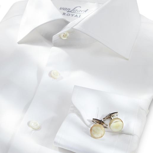 Zanchi Horn-Manschettenknöpfe - Stilvolle Rarität: Manschettenknöpfe aus echtem Horn. Individuell durch natürliche Farbe und Maserung.