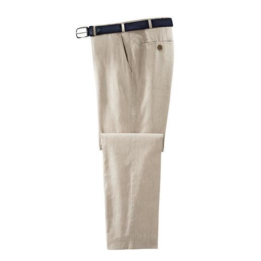 Hoal Business-Leinenhose, Oatmeal Weich fließend, knitter- und bügelarm - die Business-Leinenhose von HOAL.