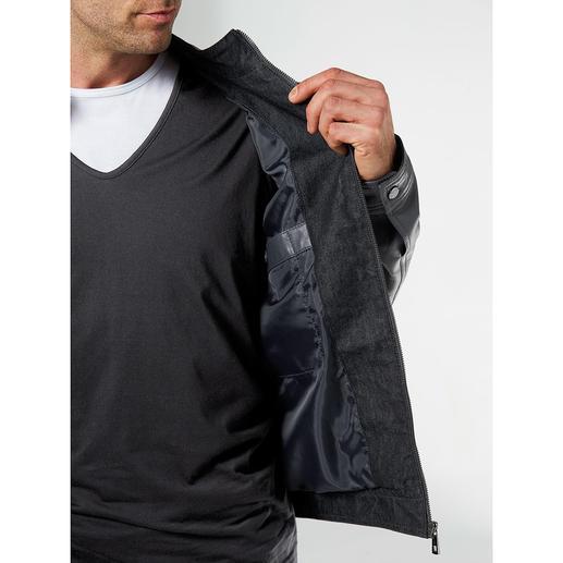 Lagerfeld Lederjacke Stilvoll und modisch wichtig. Weich und leicht. Und sogar im Preis attraktiv.