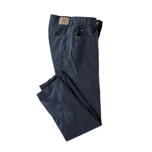 Coolmax® Sommer-Five-Pocket - Die Five-Pocket für den Sommer: das Tragegefühl von Baumwolle. Der Klima-Komfort von Coolmax®.