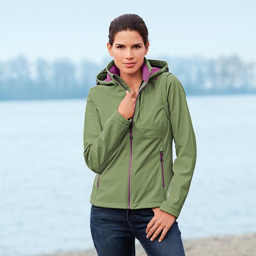 Soft Shell-Jacke für Damen Die Soft Shell-Jacke mit WindProtect®. Schlank, leicht und trotzdem warm.