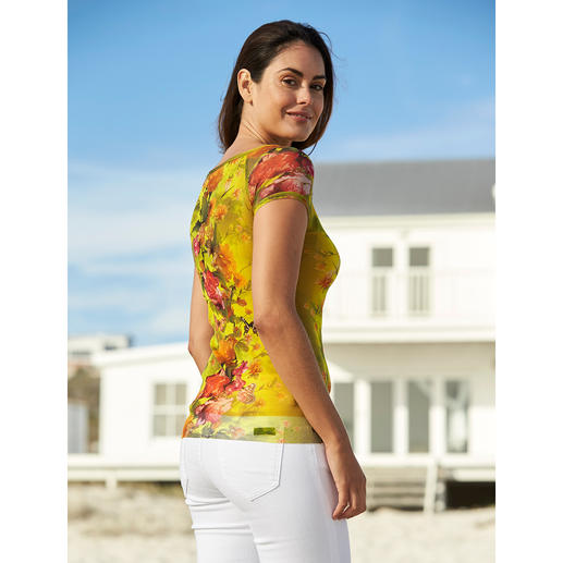 Fuzzi Koffer-Shirt Ultraleicht. Unkompliziert. Und elegant wie eine Bluse.