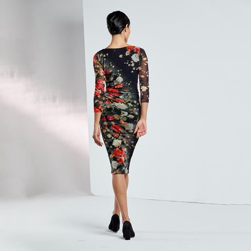 Fuzzi Handtaschenkleid Das Designerkleid für die Handtasche. Und für fast jeden Anlass. Aus hauchzartem Tüll-Jersey.