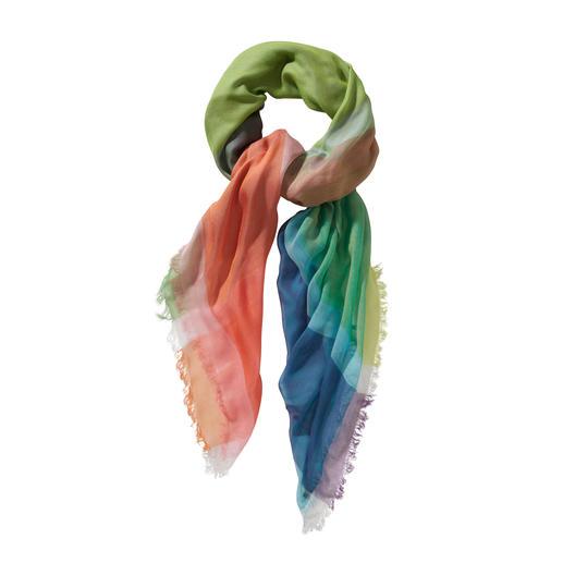 Ancini 14-Farben-Tuch - 14 Farben in einem Tuch – für unendlich viele Kombinationen. Made in Italy. Von Ancini.