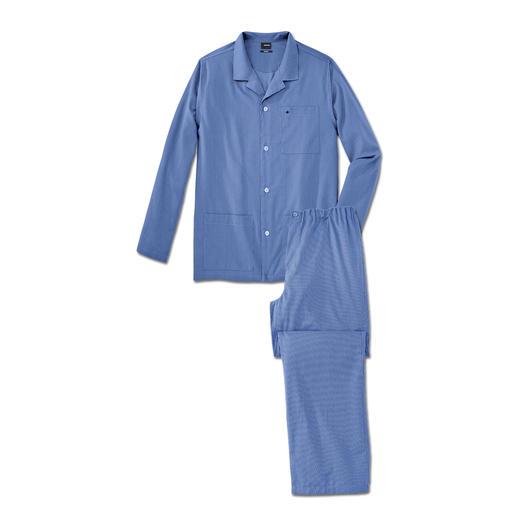 Seidensticker Bügelfrei-Pyjama Alle Vorzüge eines guten Baumwoll-Pyjamas. Aber ohne lästiges Bügeln. Einfach waschen, trocknen, tragen.