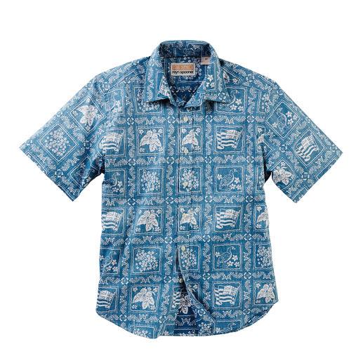 Reyn Spooner Hawaii-Hemd Lāhainā Sailor - Ihr Hawaii-Hemd sollten Sie auf Hawaii kaufen. Oder ...