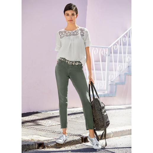 Silver® Jersey-Jeans Authentische Jeans-Optik. Aber mit Yoga-Pants-Feeling. Selten gut gelungen bei Silver®, Kanada.