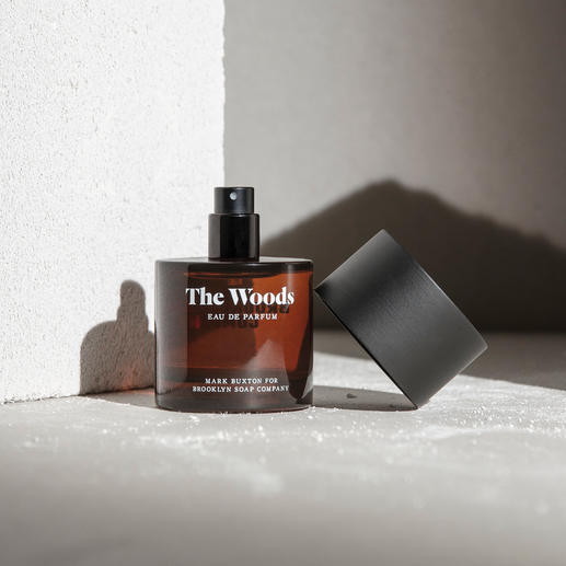 The Woods Eau de Parfum The Woods: Das erste Herrenparfum der Brooklyn Soap Company.