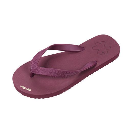 flip*flop® originals, Damen, Bordeaux Nur diese Zehensandalen dürfen sich wirklich Flip-Flops nennen.