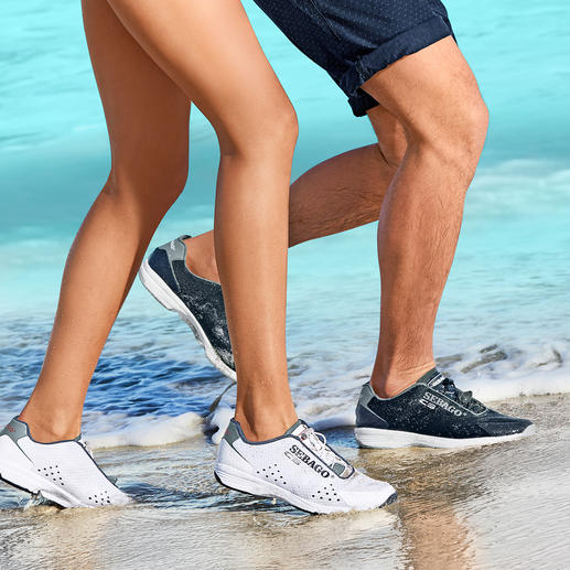 Sebago® Herren Wet-Sneakers Wet-Shoes in Sneaker-Optik: perfekt für Wassersport und Landgang. Ultraleicht. Luft- und wasserdurchlässig.