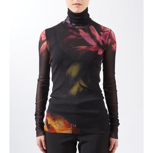 Fuzzi Rolli Herbstblumen Ultraleicht. Unkompliziert. Und elegant wie eine Bluse.