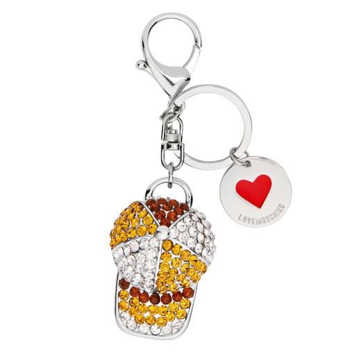 Love Moschino Charms Selten erzielen kleine Accessoires so große Wirkung wie die Charms von Love Moschino.