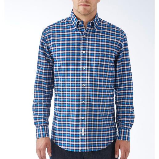 The BDO-Shirt No.48, Kariert Entdecken Sie einen guten alten Freund. Und vergessen Sie, dass ein Hemd gebügelt werden muss.