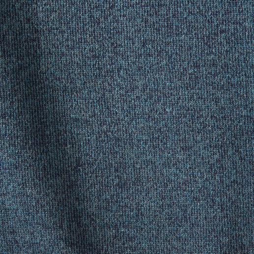 Seldom Seamless-Wendepullover Uni oder meliert. Merino-Schurwolle oder Giza-Baumwolle.