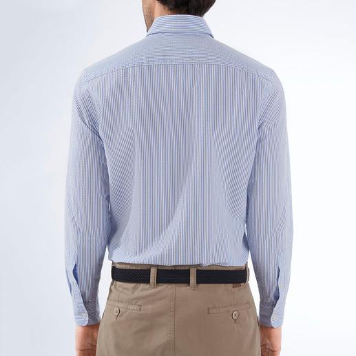 Hackett London Seersucker-Hemd Luftig, aber nie zu leger: das Seersucker-Hemd mit britischer Eleganz. Von Hackett London.