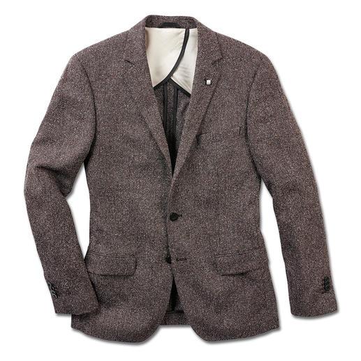 Lagerfeld Sommer-Tweed-Sakko Das Sommer-Tweed-Sakko von Lagerfeld. Mit Baumwolle und Seide.