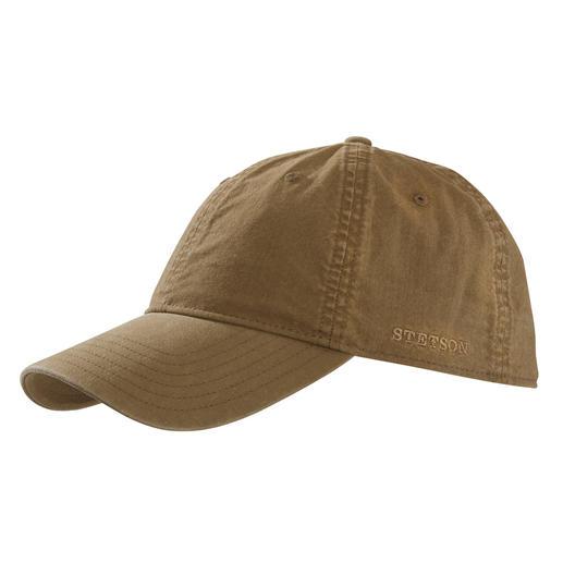 Stetson Baseball-Cap Charaktervoller als so viele andere: die Baseball-Cap von Stetson, dem Kult-Hutmacher aus den USA.