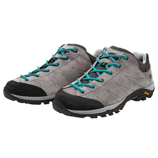 Zamberlan®-Damen-Sneaker - Der perfekte Schuh auf Reisen. Bequem, robust, wasserdicht, leicht und atmend. Von Zamberlan®, seit 1929.