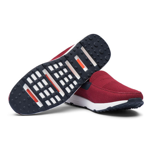Swims Summer-Knit Herren-Slip-On Trend-Sneaker und Wet-Shoe in einem: die modischen Knit-Slipper von Swims/Norwegen.