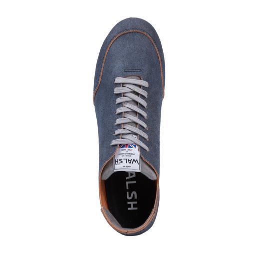 Norman Walsh Barfuß-Ledersneaker Der perfekte Barfuß-Sneaker: Ungefüttertes Kalbleder, pflanzlich gegerbt und in England handgefertigt.