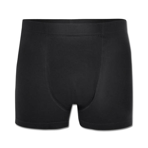 Stop-Drops-Safety-Boxershorts, Herren - Nur selten bietet modische Unterwäsche so viel Funktion: Weich. Saugfähig. Unsichtbar unter eng anliegender Kleidung.