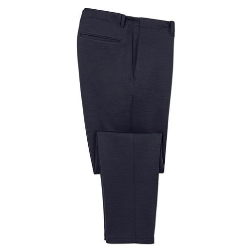Hiltl Komfort-Tuchhose Die ideale Mitte zwischen Business-Outfit und Homewear: Elegant wie eine Tuchhose. Bequem wie eine Trainingshose.