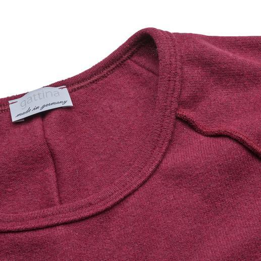 Flausch-Homesuit Der dreiteilige Homesuit aus italienischem Baumwoll-Flausch: Kuschelweich wie Kaschmir. Nie zu warm.