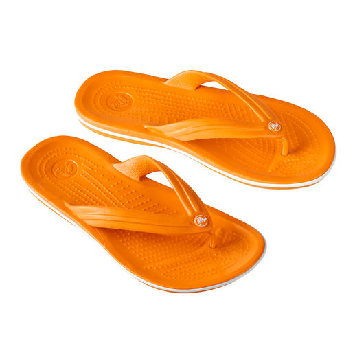 Crocs™ Strand-Flips Endlich Strand-Flips mit bequemem Fußbett.
