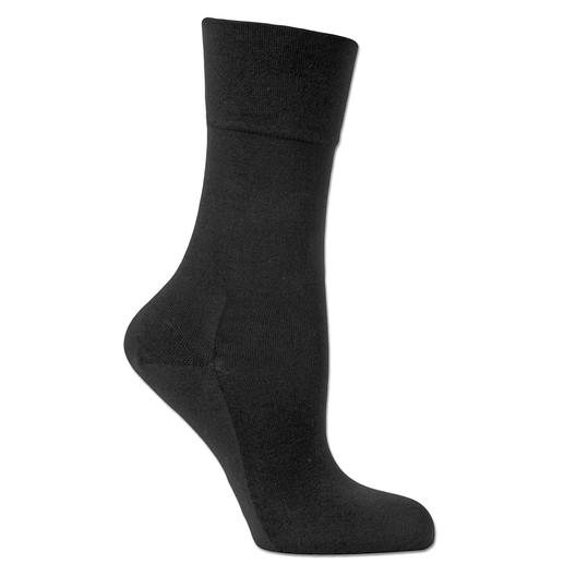 Bamboo-Socken Herren, Schwarz