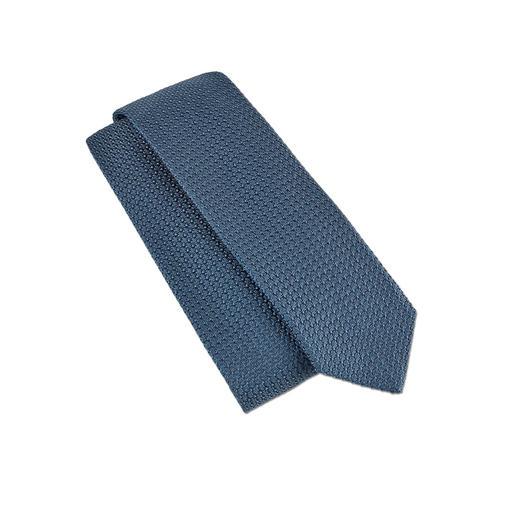 Garza-Grossa-Krawatte - Die Seidenkrawatte im angesagten Strick-Look. Aus seltenem Garza-Grossa-Gewebe made in Italy.