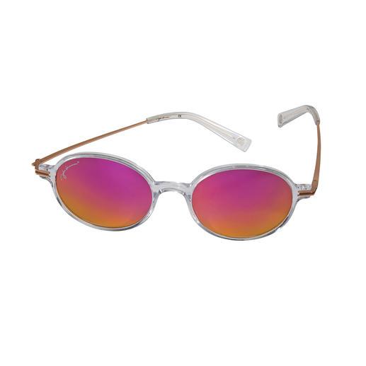 John Lennon Sonnenbrille Pink Die Kult-Brille von John Lennon. Mit dem Sonnenschutz von heute. Lizensiertes Original mit Signatur.