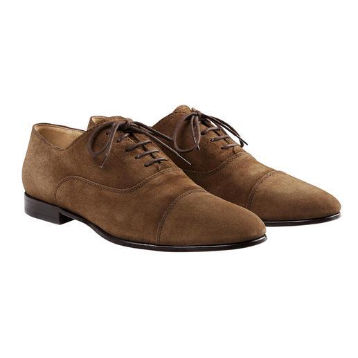 Lottusse Sacchetto-Derby - Einen flexibleren, komfortableren Business-Schuh werden Sie kaum finden.
