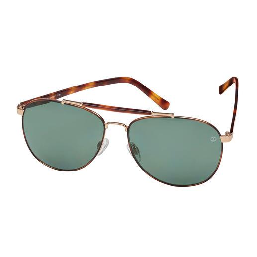 Ein Klassiker auf dem neuesten Stand: die Piloten-Sonnenbrille von Davidoff. Ein Klassiker auf dem neuesten Stand: die Piloten-Sonnenbrille von Davidoff.