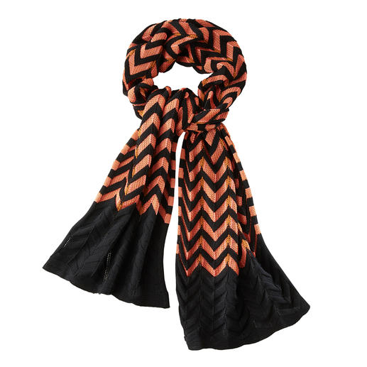 M Missoni Supersize-Schal Fashion-Star Supersize-Schal: im typischen Wellenstrick von Missoni ein besonderer Blickfang.