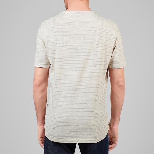 Broken-Stripes-Shirt Vollkommen unvollkommen: das Streifen-Shirt in moderner Fragment-Optik.