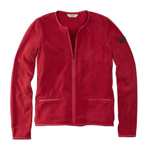 Aigle Polartec®-Couturejacke Selten elegant: die Polartec®-Microfleece-Jacke im Couture-Stil.