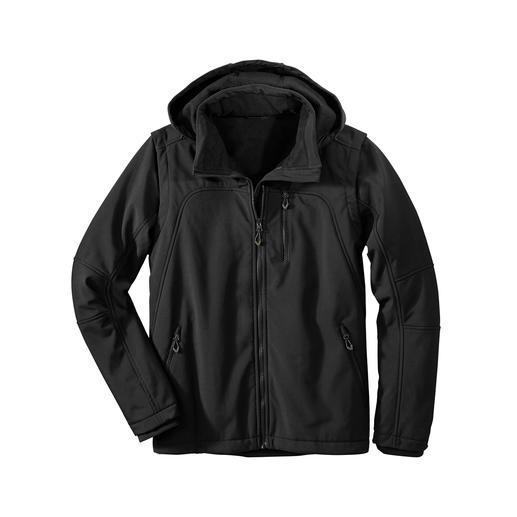 Soft Shell-Herrenjacke - Die Jacke aus Soft Shell, mitWindProtect® von CMP: Schlank, leicht und trotzdem warm.