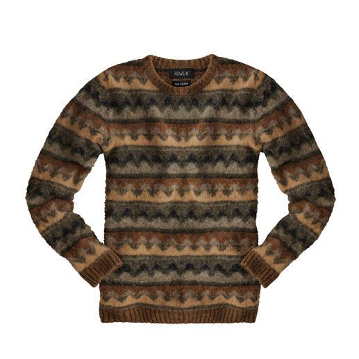 Howlin' Herbstfarben-Pullover Modernes Design aus der Modestadt Antwerpen, in Schottland gestrickt. Vom jungen belgischen Label Howlin'.