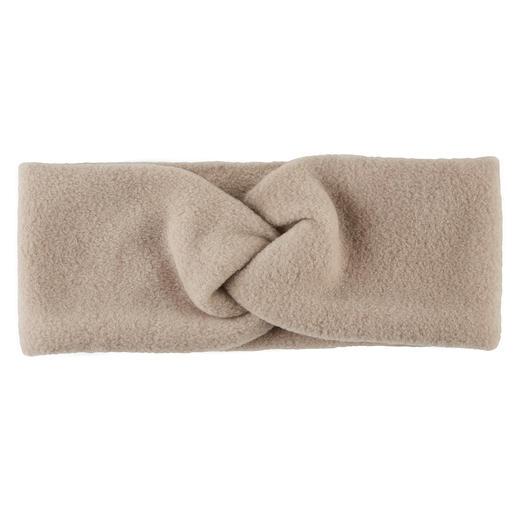 Loevenich macht aus sportlichem Fleece ein elegantes Fashion-Accessoire. Das Stirnband mit raffiniertem Knoten-Detail. Loevenich macht aus sportlichem Fleece ein elegantes Fashion-Accessoire.