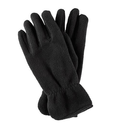Loevenich Fleece-Fingerhandschuhe Wärmender Polartec®-Fleece – konfektioniert wie edle Lederhandschuhe. Von Loevenich, designed in Deutschland .