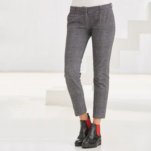 Circolo Jersey-Blazer oder Anzughose Die Optik edler Anzugtuche – der Tragekomfort von Homewear.